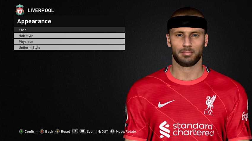 Nathaniel Phillips Face For PES 2017