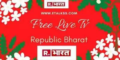 Republic Bharat news on the website through live tv see latest updates