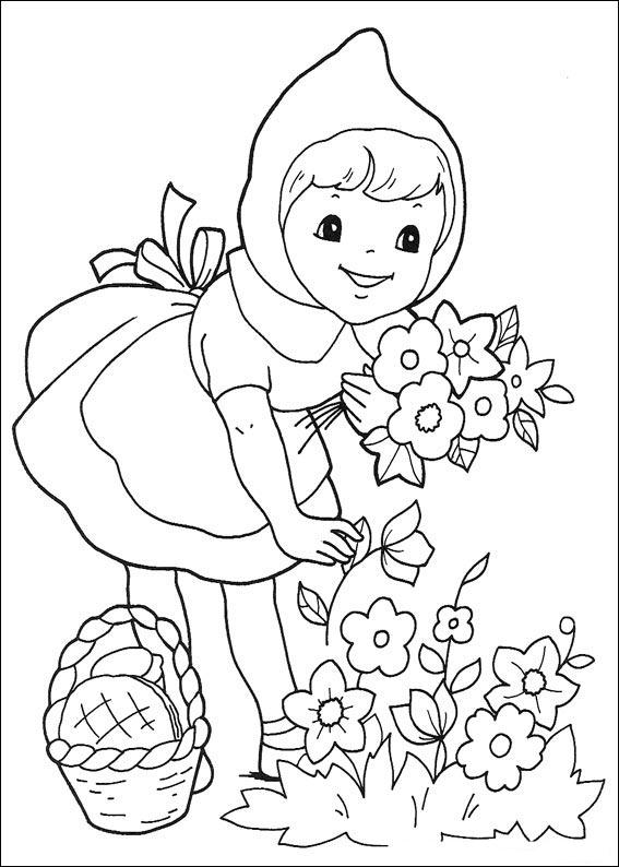 Little Red Riding Hood Coloring ~ Child Coloring