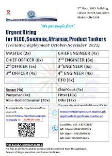 seaman jobs