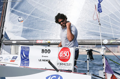 Erwan Le Mené s'impose sur l'étape 1 de la Transgascogne devant Axel Tréhin