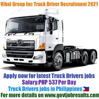 Vibal Group Inc Truck Driver Recruitment 2021-22
