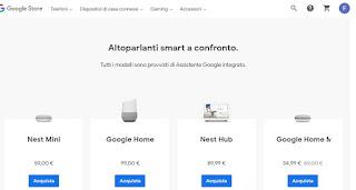 altoparlanti Google