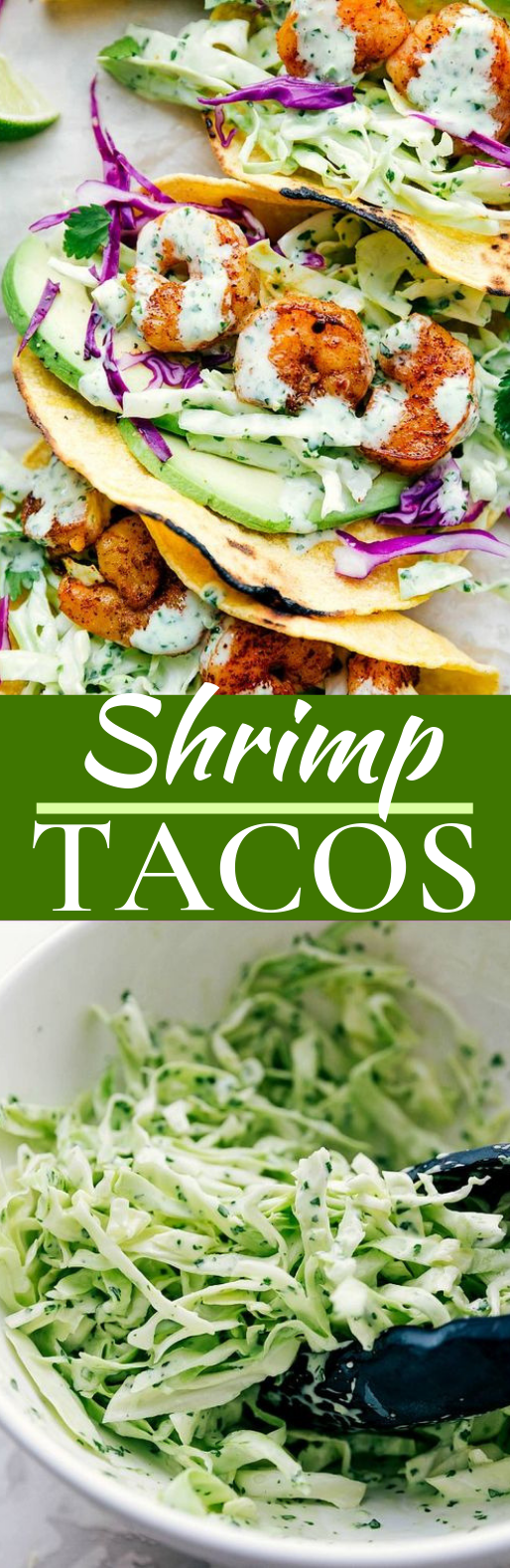 SHRIMP TACOS #healthy #lunch