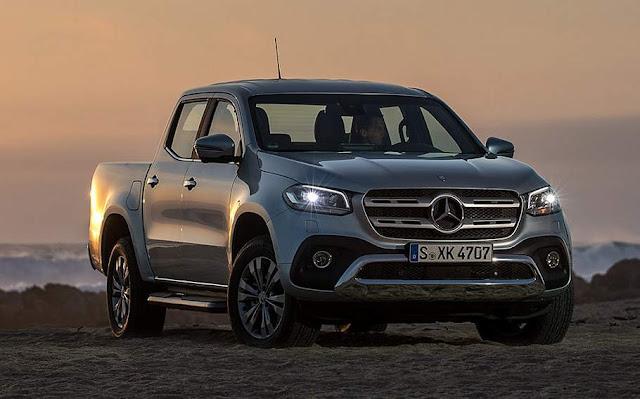 Mercedes-Benz Classe X atinge 5 estrelas no Euro NCAP