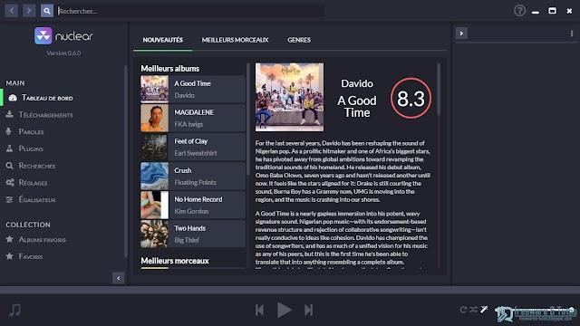 Nuclear : un logiciel de streaming audio à (re)découvrir