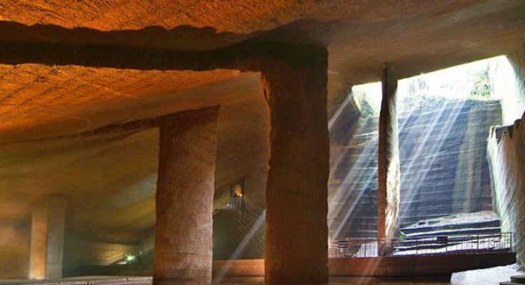 Κίνα: Τα μυστηριώδη σπήλαια Longyou