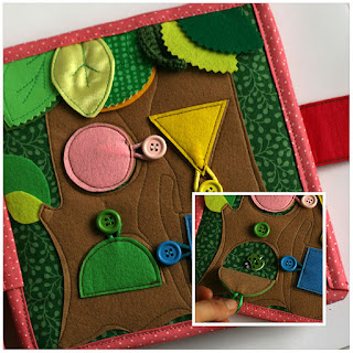 Tree house with button flaps page