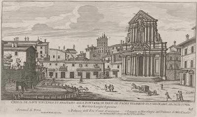 Fontana Trevi 1660