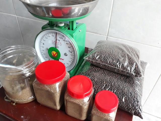 Sản phẩm tiêu hạt, tiêu xay