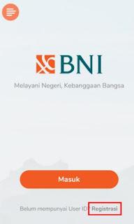 cara daftar & aktivasi bni mobile banking- registrasi user id