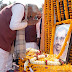 स्व० पंडित दीनदयाल उपाध्याय जी की प्रतिमा पर पुष्प अर्पित कर CM Nitish Kumar
