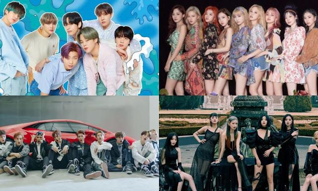 2020 Yılında Popüler Olan Kpop Şarkıları
