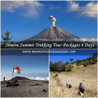 Semeru Summit Trekking Tour Packages 4 Days