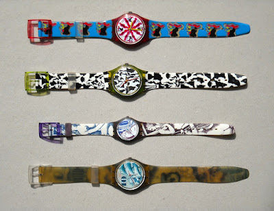 Swatch - orologi da collezione - collectible watches - annunci