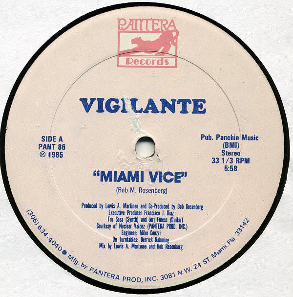 Vigilante - Miami Vice