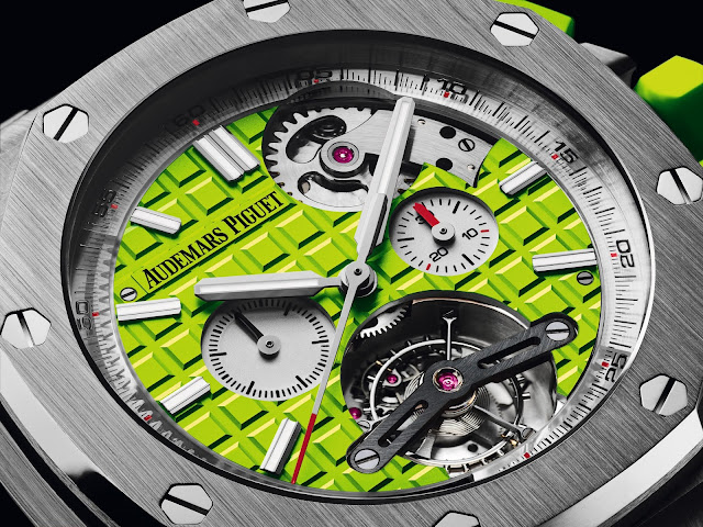 Audemars piguet royal oak offshore diver abdi for 6 salon in royal oak