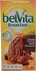 Belvita breakfast biscuit cocoa with choc chips