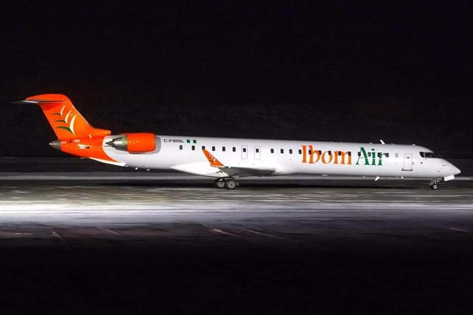 Ibom Air Finally Berth At Akwa Ibom Airport, Starts Operation - Photos