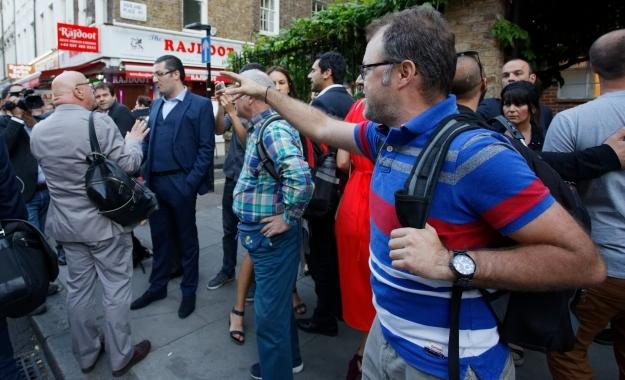 Φραστική επίθεση κατά Αλέξη Τσίπρα στο Λονδίνο