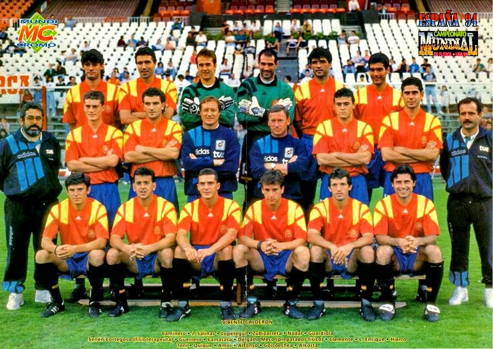 Hilo de la selección de España (selección española) Espa%25C3%25B1a%2B1994%2B05%2B20