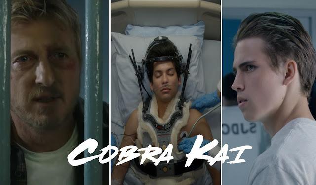 """Netflix revela el tráiler de """"Cobra Kai 3"""""""