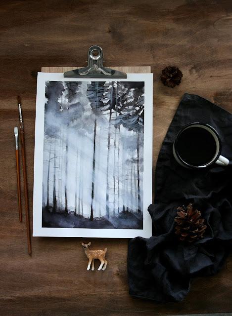 Leśna impresja