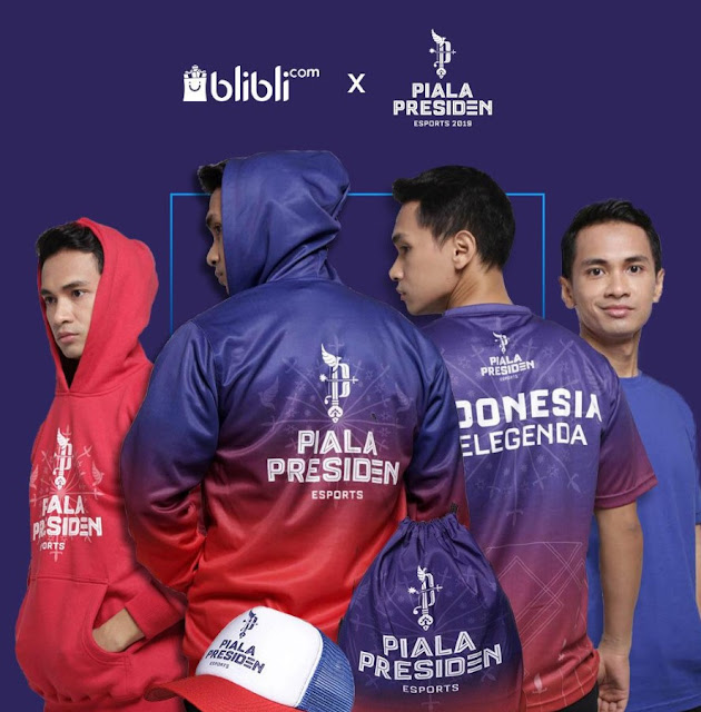 Kenali 6 Official Merchandise Piala Presiden Yang Wajib Anda Miliki