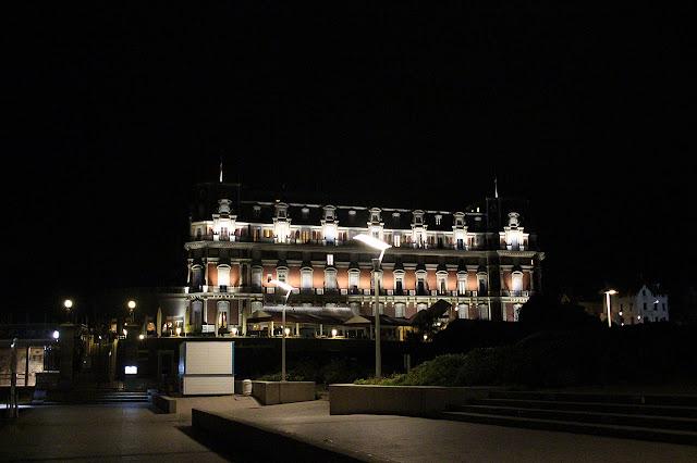 Hôtel du Palais de nuit, Biarritz