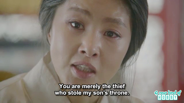 queen yoo called wang so a thief who stole king wang yoo seat  - Moon Lovers Scarlet Heart Ryeo - Episode 17 (Eng Sub)