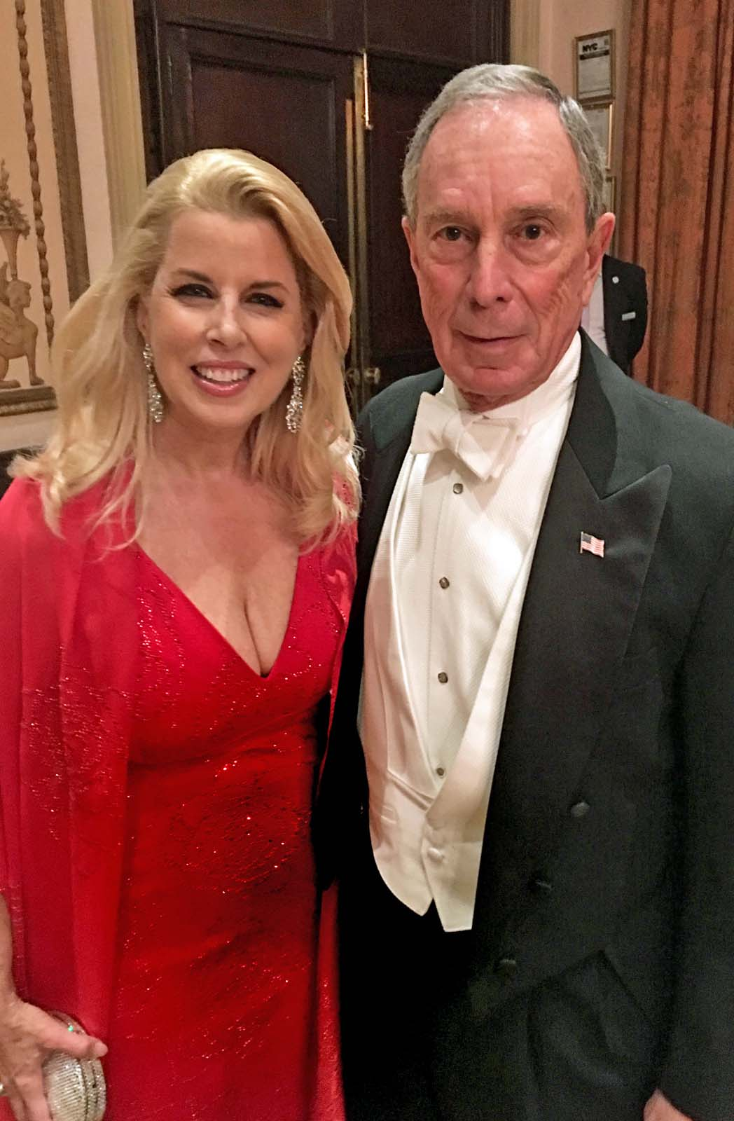 Rita Cosby With Mike Bloomberg