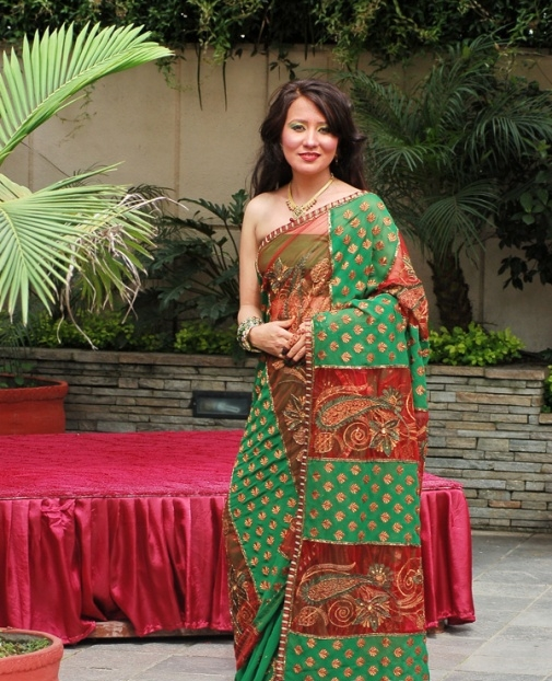 Nepali Heroin Saree Photos: Sarees Worn By Hollywood And Nepali Actresses