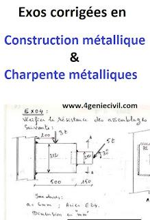 exercices corrigées en assemblage boulonné construction métallique, exercices corrigées construction métallique pdf