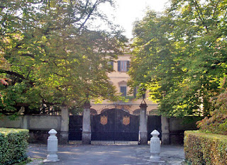 Silvio Berlusconi's home, the Villa San Martino, is in the  town of Arcore, north-east of Milan