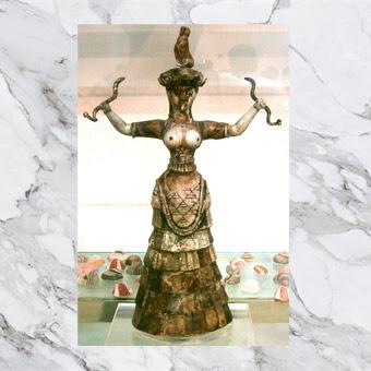 Dea dei serpenti. Museo archeologico di Candia