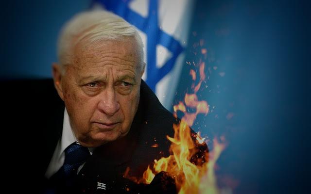 Kisah Ariel Sharon, Penjagal dari Israel