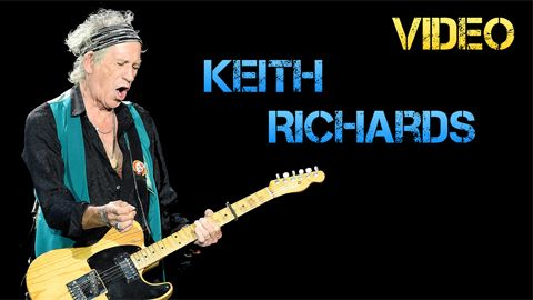 Vídeo Biografía Keith Richards