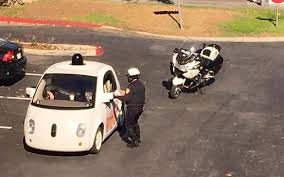 That's why police stopped Google smart car yesterday!