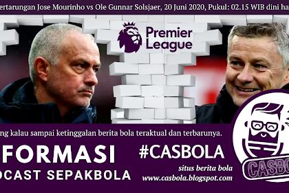 Jadwal Bola 19 - 20 Juni 2020