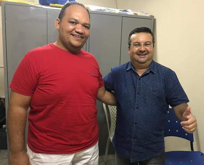 Professor Leomberg Gomes é o novo secretário de Educação de Grossos