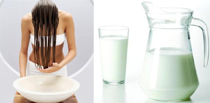 Como tirar o verde do cabelo loiro com leite