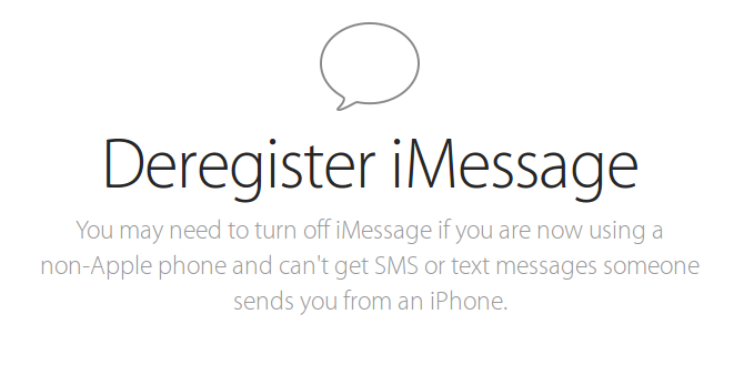 how to turn off text messages on iphone how to deregister your phone number from imessage and get 1628