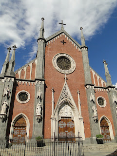 The church of Santa Giulia in Borgo Vanchiglia
