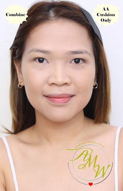 a photo of Nikki Tiu AskMeWhats wearing Cathy Doll AA Automatic Aura Cushion and Cream