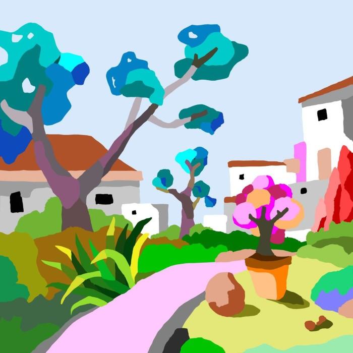 Красочные пейзажи. Alejos Lorenzo