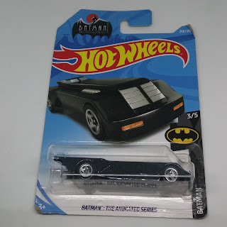 Hot Wheels BATMAN THE ANIMATED SERIES BLACK