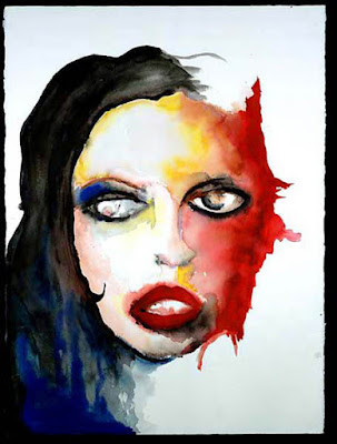By Any Other Name, pintura de Marilyn Manson.