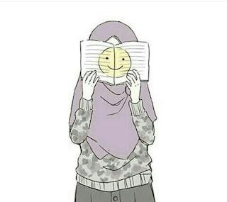 kartun anime muslim sedih