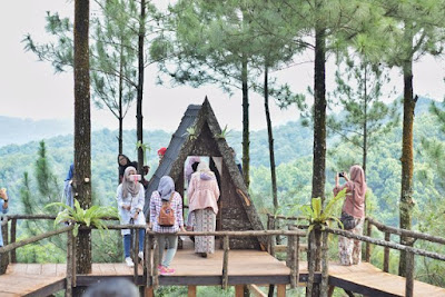 Lokasi Rumah Pohon Pabangbon Leuwiliang Bogor, Spot Kere