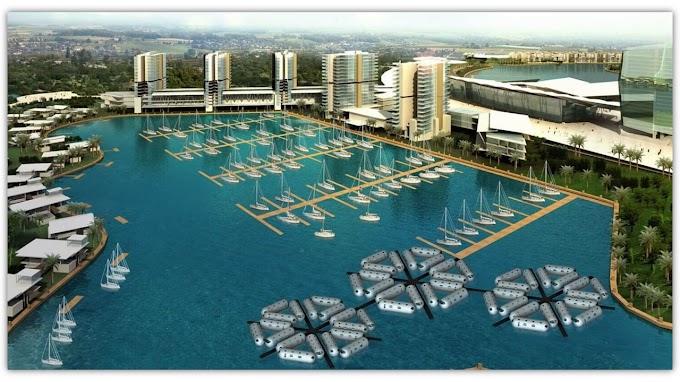 Keren Banget, Inilah Proyek Kota Apung Yang Sedang Dibangun Di Dunia